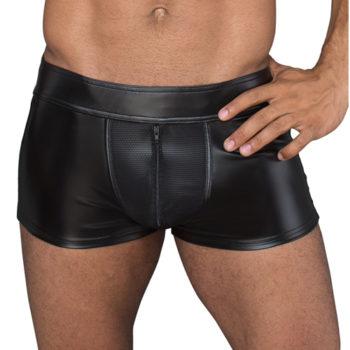 Wetlook Pants mit Reißverschluss