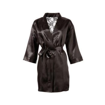 Kimono mit Spitzen-Rückseite