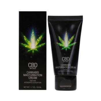 CBD Cannabis Masturbation Cream für Ihn - 50 ml