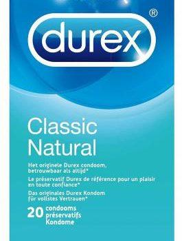 Durex Classic Natural 20 Stück