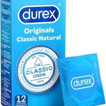 Kondome Durex Classic Natural 12 Stück