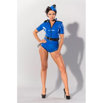 GP Datex Sexy Polizeiuniform Blau