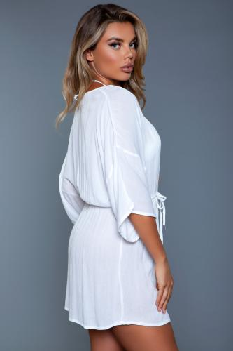 Thalia Strandkleid - Weiß