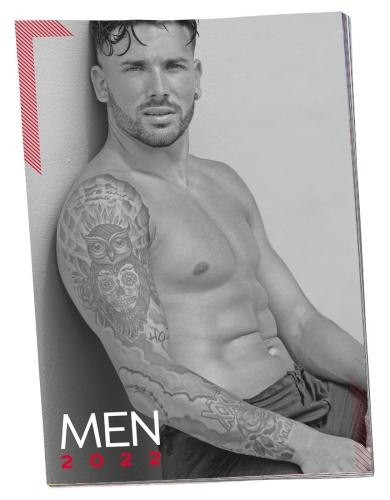 Pin-up-Kalender Soft Men 2022