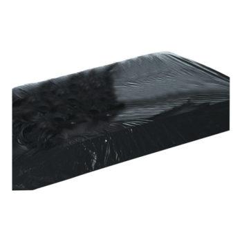 Lack Spannbettlaken schwarz