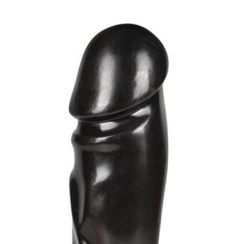 Großer Dildo in Schwarz