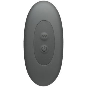 Vibrierender Peniskäfig mit Funkfernbedienung - Grau
