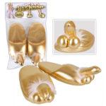 Penis-Puschen Goldfarben