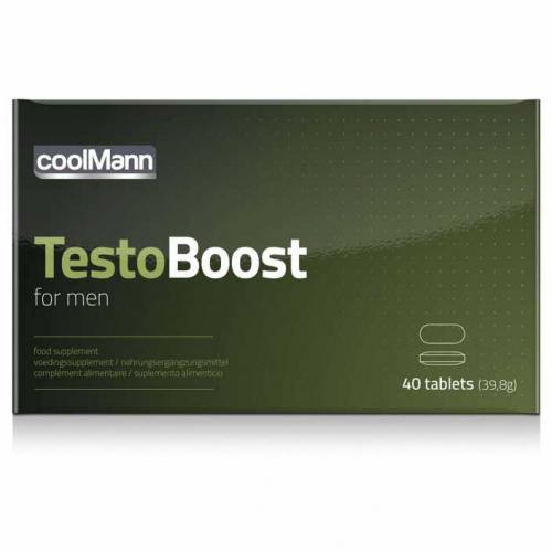CoolMann Testoboost - 40 Tabletten