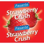 Pasante Kondome mit Erdbeergeschmack 144 Stück