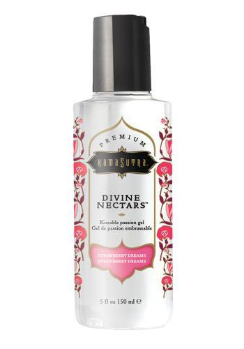 Divine Nectar ableckbares Massageöl - Erdbeere