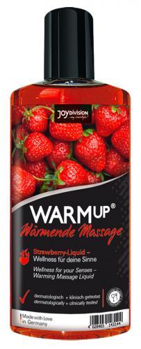 Aufwärmendes Massageöl - Erdbeere