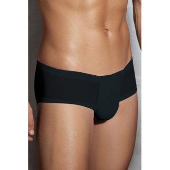 Halb-transparente Männerunterhosen - Schwarz