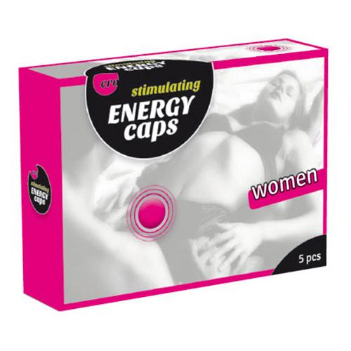 Stimulating Energy Caps für die Frau 5 Stück