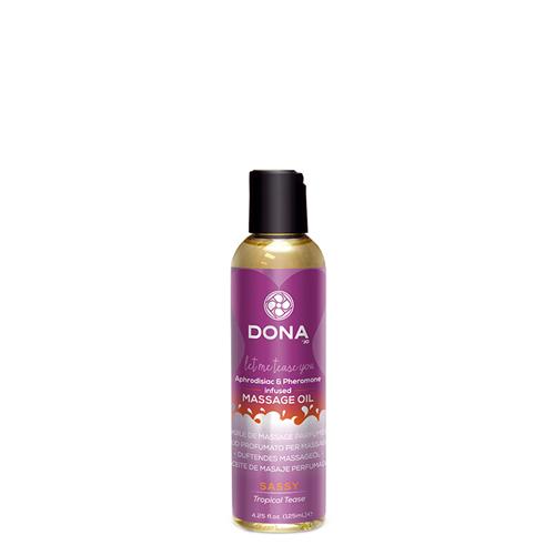 Dona - Parfümiertes Massageöl Sassy Tropical Tease
