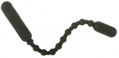 Booty Beads Vibrierende Analperlen - Schwarz
