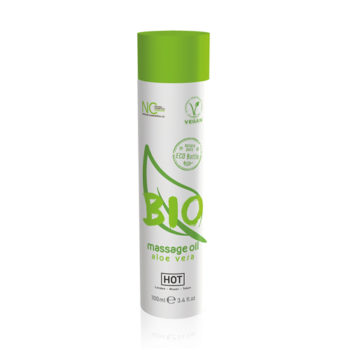 HOT BIO Massageöl Aloe Vera - 100 ml