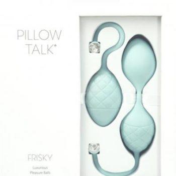 Pillow Talk - Frisky Pleasure-Kugeln - Türkis