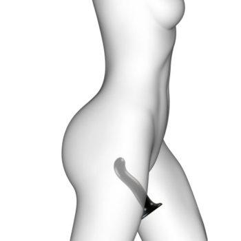 Strap On Me - Point - Dildo zur G- und P-Punkt-Stimulation - Größe M