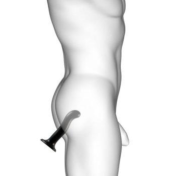 Strap On Me - Point - Dildo zur G- und P-Punkt-Stimulation - Größe S