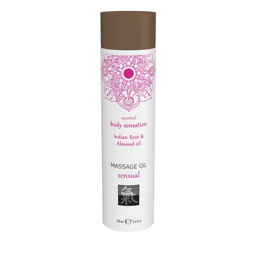 Massageöl Sinnlich - Indische Rose und Mandel
