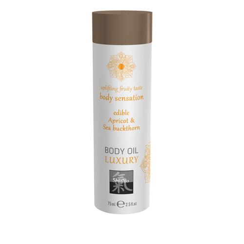 Luxus-Körperöl - Aprikose und Sanddorn