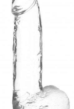 Crystal Addiction - Transparenter Dildo - 20 cm