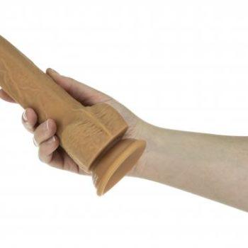 Naked Addiction Realistischer Stoß-Dildo mit Fernbedienung - 23 cm