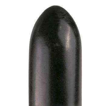 All Black Dildo 22,5 cm - Schwarz