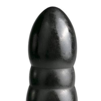 All Black – Großer Dildo in Schwarz