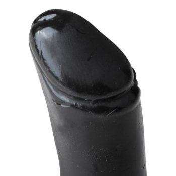 All Black realistischer Dildo schwarz - Extra klein