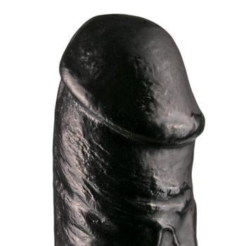 Realistischer Dildo 29 cm - Schwarz