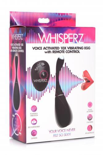 Whisperz Vibro-Ei mit Stimmaktivierung