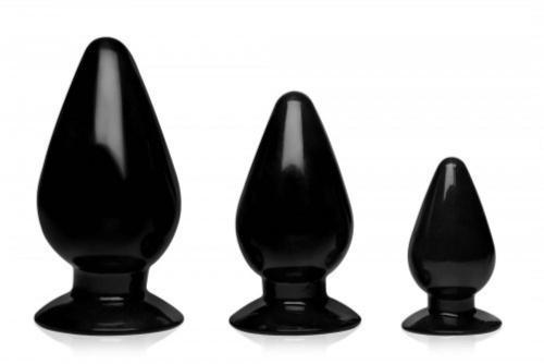 Triple Cones 3-teiliges Analplug-Set