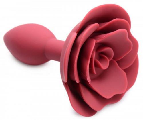 Booty Bloom Silikon-Analplug mit Rose