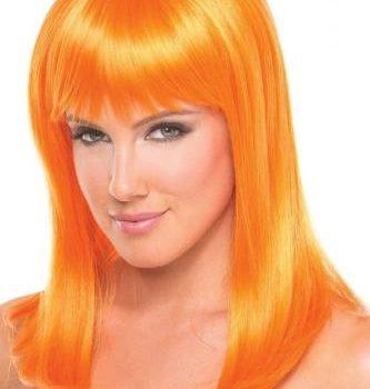 Hollywood-Perücke - Orange