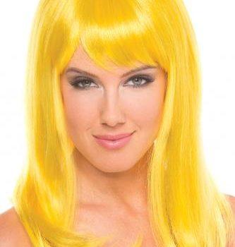 Hollywood-Perücke - Gelb