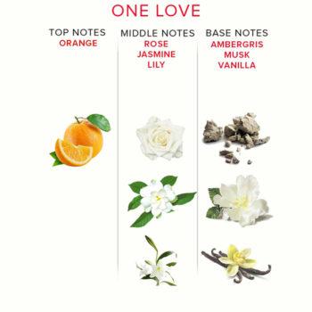 EOL One Love Spray für Sie