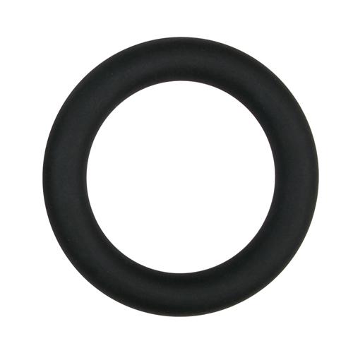 EasyToys Penisring aus Silikon Large in Schwarz