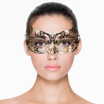 EasyToys – Durchbrochene Maske aus Metall in Gold