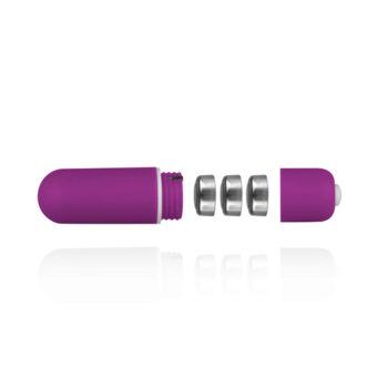 Bullet-Vibrator mit 10 Geschwindigkeiten - Lila