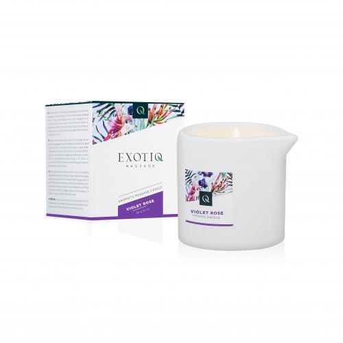 Exotiq Massagekerze Violet Rose - 60g