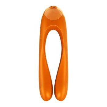 Satisfyer Candy Cane Fingervibrator - Orange