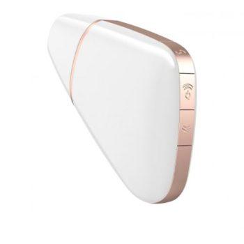 Satisfyer Love Triangle Luftdruck Vibrator - Weiß