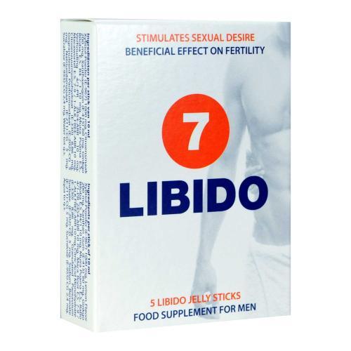 Libido7 Jelly Sticks - Aphrodisiakum für Männer und Frauen - 5 Beutel
