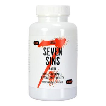 Seven Sins - Boost - More Sperm - 60 Stück