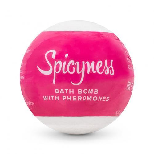 Badebombe mit Pheromonen - Spicy