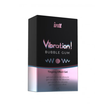 Vibrationen! Bubble Gum Tingling Gel