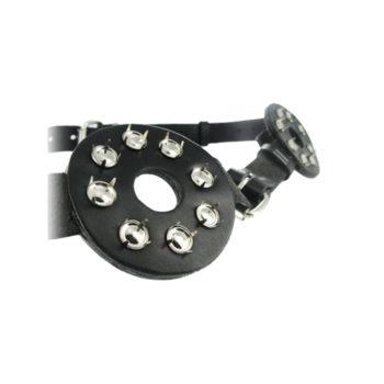 Brust Bondage Harness mit Spikes und Nippellöchern