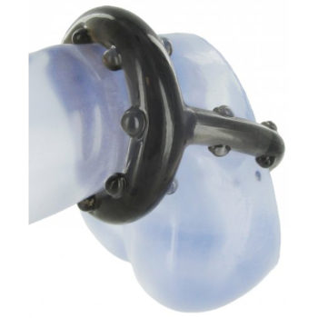 Cock And Ball Holster Penisring mit Stimulationsnoppen